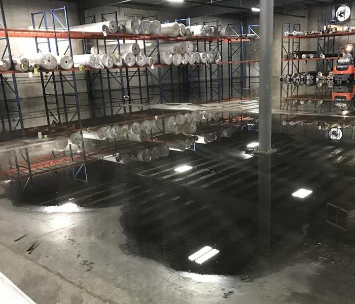 Water Damage at Commercial Property